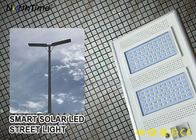 ประเทศจีน IP65 Smart Control Solar Powered LED Street Lights With Solar Panel & Lithium Battery โรงงาน