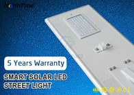 ประเทศจีน 80Watt IP65 Smart Phone APP Control LED Smart Solar Street Light 5 Year Warranty โรงงาน